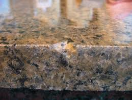chipped granite