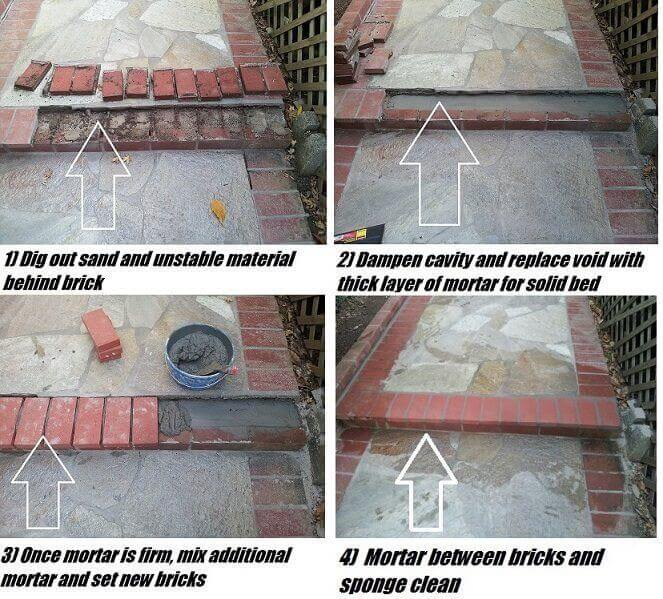 How to Fix a Broken Brick Step