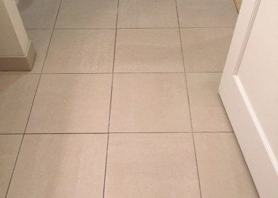 a grout staining before