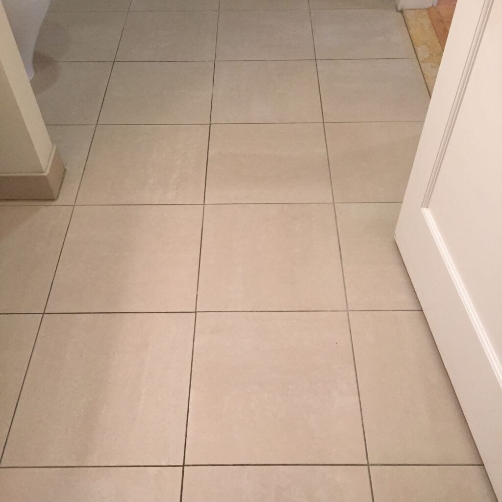 Clean Mold In Shower Grout