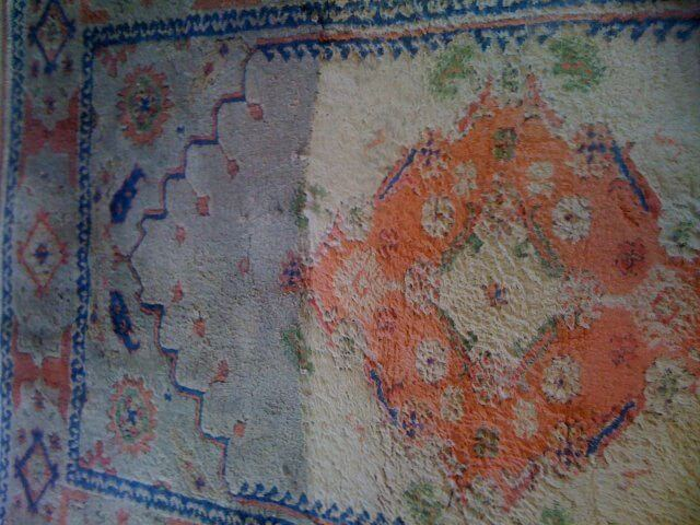 Area Wool Rug Before And After