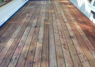 Deck Refinishing in Danville